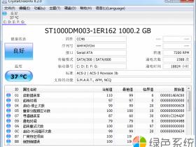 硬盘测试工具 CrystalDiskInfo v8.4中文版