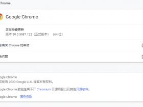 GoogleChrome 80.0.3987.122 稳定版(支持 win7、win10)