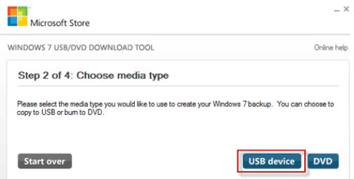 Windows 7纯净版操作系统的U启动盘