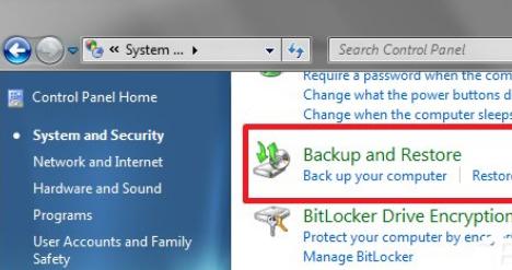 如何备份我的系统和Win7纯净版数据?